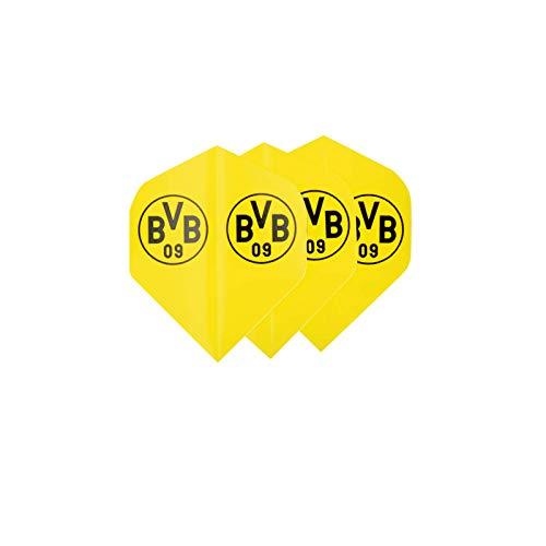 Borussia Dortmund Unisex Bvb-dart Dart Flights, Schwarz/gelb,Einheitsgröße EU