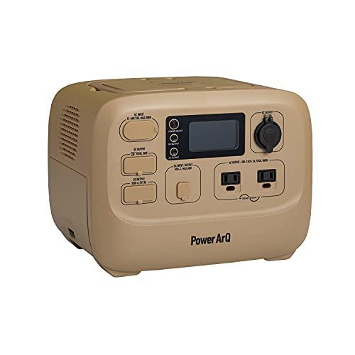 SmartTap ポータブル電源 PowerArQ3 コヨーテタン (555Wh/150,000mAh/AC500W出力(最大瞬間1,000W)/正弦波/100V日本仕様/蓄電池) 正規保証2年