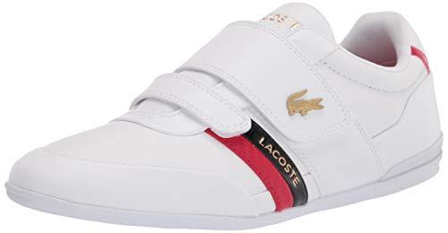 Lacoste Misano - Zapatillas deportivas para hombre, blanco, 9