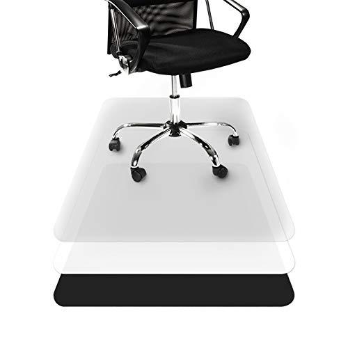 Tapis Protège-sol Transparent casa pura® | Tapis Chaise de Bureau Vinyle 100% Recyclé | Protection Sol Dur, Parquet, Lino | 11 Tailles | 90x120cm