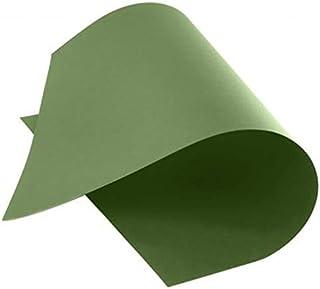 فابريانو، ورق مقوى لون أخضر داكن 50 × 70 سم، 220 جم، 20 ورقة