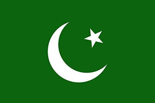 magFlags Drapeau Large Muslim League   All-India Muslim League, British India/Pakistan   Muslimliga in Britisch-Indien/Pakistan   Drapeau Paysage   1.35m²   90x150cm