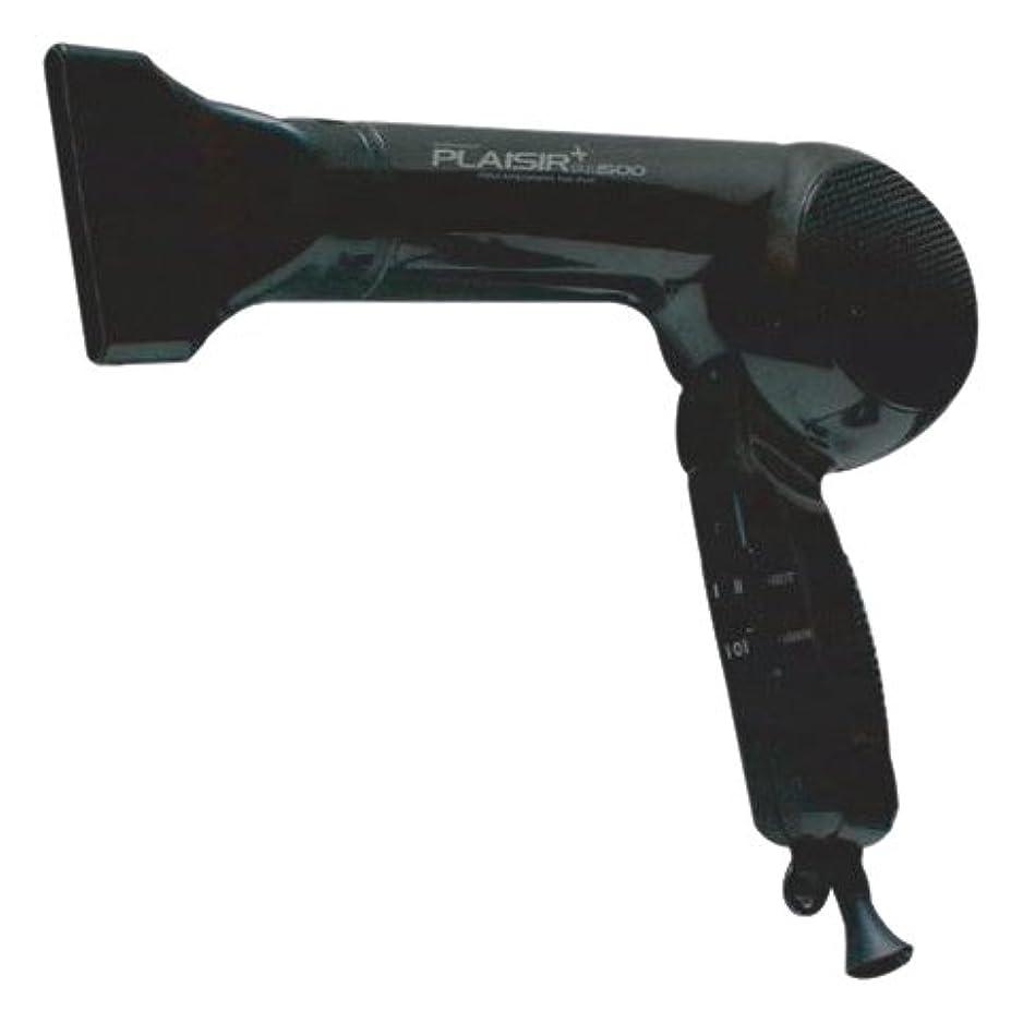 シャベル石の大阪ブラシ ヘアドライヤー プレジールプラス1500 ブラック FTC-1550