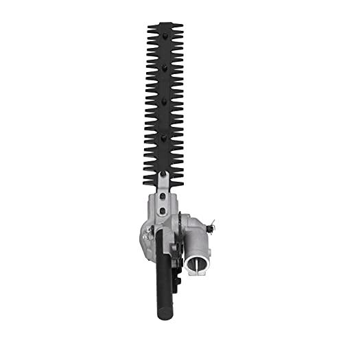 Cabezal cortasetos, portátil, 26 mm, 9 dientes, orificio redondo, cabezal cortador de setos para podar setos