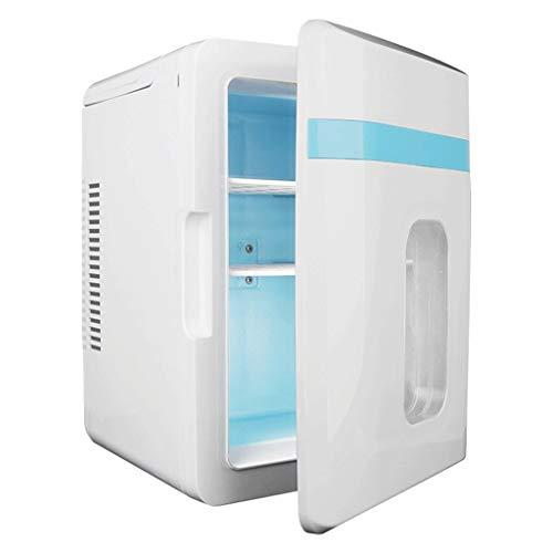 BYZHP Mini Nevera Mini Refrigerador Mini refrigerador 10L Más frío Calentador pequeño refrigerador portátil Puerta de una Sola Puerta compacta para el Cuidado de la Piel Cosmetics Casas