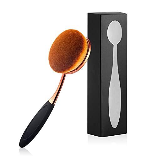 Yoseng Oval Foundation Brush Large Toothbrush makeup brushes Fast Flawless Application Liquid Cream Powder Foundation
