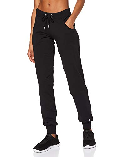 Venice Beach Damen Jogginghose Valley Tor Pants Hose, Black, M