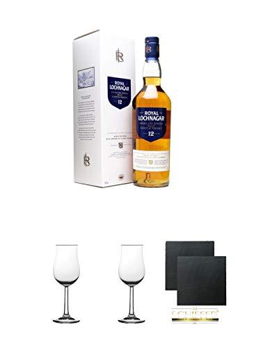 Royal Lochnagar 12 Jahre Single Malt Whisky 0,7 Liter + Geschenkset
