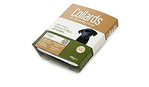 Collards Puppy Turkey Rice & Veg 7x400gm