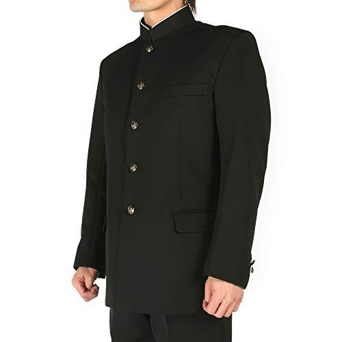 日本製全国標準型学生服 学ラン上着 東レ生地 ポリエステル100% ラウンドカラー (150A)