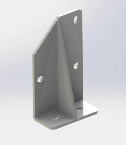 Home & Trends Stahl Dachsparrenhalter für Gelenkarmmarkise Zwei Farben Auswahl Dachhalterung SPP060 (Weiß)