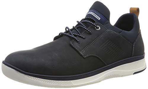 Salamander Herren PORTHOS Slip On Sneaker, Blau (Navy 02), 40 EU