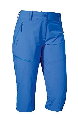 Schöffel Pants Caracas2, leichte und kühlende Wanderhose aus elastischem Stoff, vielseitige Outdoor Hose mit optimaler Passform und praktischen Taschen Damen, palace blue, 38