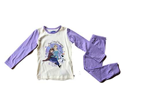 Disney Frozen Eiskönigin Schlafanzug, 128 - ca. 7-8 Jahre, Pink
