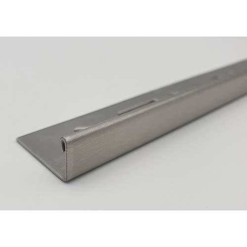 5 Stück = 12,5 m á 2,50 m Edelstahlschiene 20 mm Winkelprofil L-Form gebürstet Rotthues Winkelschiene Fliesenschiene