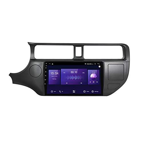 ADMLZQQ Radio de Coche estéreo Android 10 Pulgadas para KIA Rio 2011-2014 navegación GPS IPS Pantalla táctil WiFi Bluetooth FM Am RDS HiFi Receptor Carplay Mirror Link Espejo Pantalla,7862,4+64G