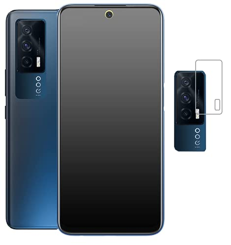 LITEKART Matte Finish Gaming Screen Guard Tempered Glass For IQOO 7 5G With Camera Protector And Full Screen Coverage(Except Edges) And Easy Installation Kit {combo pack 1+1}