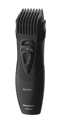 Panasonic ER2403K Moustache & Beard Trimmer W/ 5