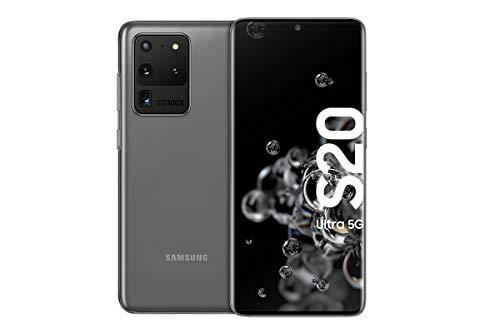 Samsung Galaxy S20 Ultra 5G - 128 GB de memoria, 12 GB RAM, Sim Hibrida, Gris [Versión Alemana]