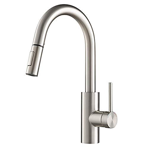 Kraus KPF-2620SFS Oletto Kitchen Faucet, 16 Inch, Spot Free Stainless Steel