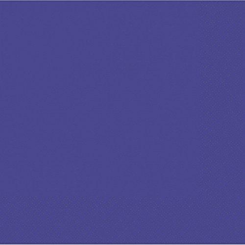 Amscan 23 cm 2-laags drankservet, violet