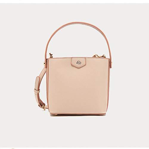 Ms. Zhu 2019 Winter Neue Frauentasche tragbare Boxsack Tasche Mode Hit Farbe Umhängetasche Umhängetasche, 2