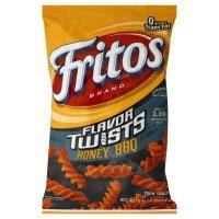 Fritos Corn Snacks, Twists, Honey BBQ, 9.25oz Bag (Pack of 3) by Fritos