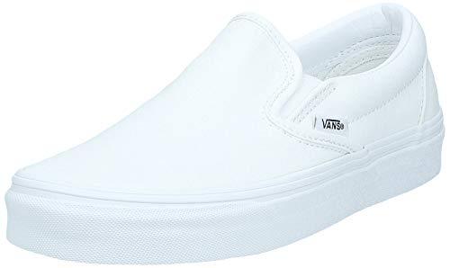 Vans Slip-On Core Classics, True White, 10.5 Women / 9 Men M US