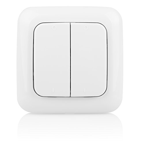 Smartwares SH5-TSW-B SmartHome Funk-Doppelwandschalter 2-Kanal