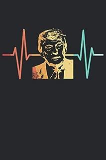 Donald Trump Notizbuch: Donald Trump Notizbuch für Präsidenten und Usa Liebhaber / Notizheft / Notizblock A5 (6x9in) Dotted Notebook / Punkteraster / 120 gepunktete Seiten (German Edition)