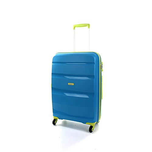 American Tourister Trolley BON AIR Spinner M Blue/Lime art. 59423 5463