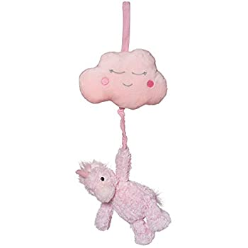 Manhattan Toy Adorables Petals Unicorn Pull Musical Baby Activity Toy