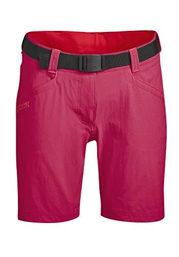 Maier Sports Damen Lulaka Shorts, Persian red