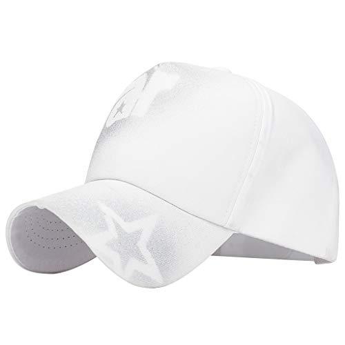 Nyuiuo Hut Damen Sommer, Frauenhut Art- und Weiseunisexmilitärart-Flache Kappen-Weinlese-Baseballmütze-Sport-Sonnenhut-Hüte