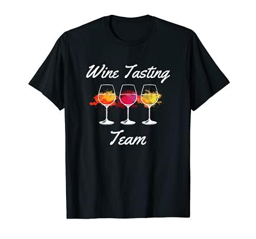 Equipo de cata de vinos divertido Camiseta
