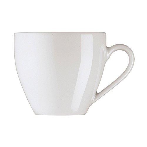 Arzberg Form 2000 Espressotasse, Obertasse, Espresso Tasse, Mokkatasse, Ristrettotasse, White, Porzellan, 90 ml, 42000-800001-14722