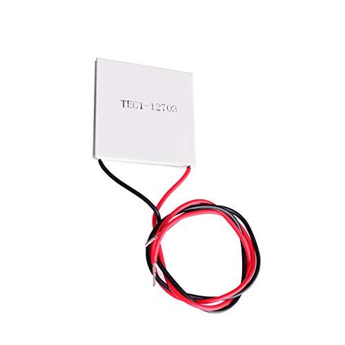 teng hong hui 12V 3A Cooler Thermoeléctrico Tec Semiconductor Módulo Deshumidificador Tiempo térmico 12V Thermoeléctrico Thermoeléctrico Placa de enfriamiento 27W