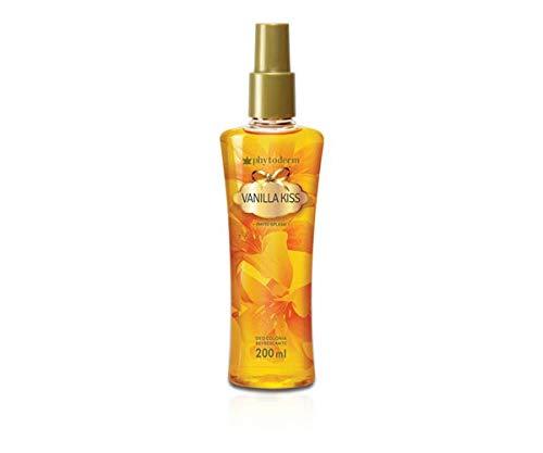 Desodorante Col Phyto Splash Vanilla Kiss 200ml, Phytoderm, Amarelo