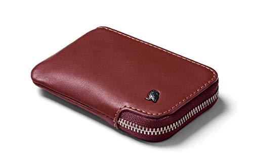 Cartera Tarjetero de Piel Bellroy Card Pocket Wallet (Máx. 15 Tarjetas y Billetes) - Red Earth