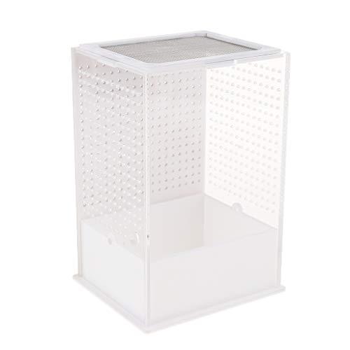 joyMerit Breeding Box Fütterungsbehälter Für Reptilien Belüftetes Design Breeding Reptile Tank Reptile Feeding Case - Typ 1