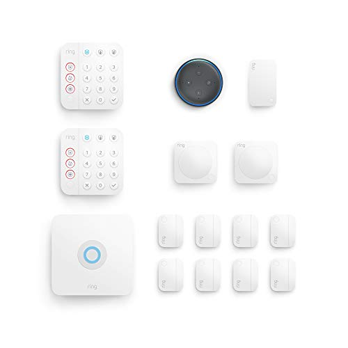 2nd Gen Ring Alarm 14-Piece Kit (2020) w/ 3rd Gen Echo Dot  $200 at Amazon