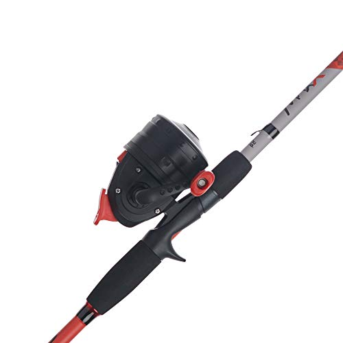Abu Garcia Abumatic & Max X Spincast Reel and Fishing Rod Combo (Old & New Models)