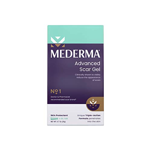 Mederma Mederma Advanced Scar Gel - 1x Daily: Use Less, Save More - Reduces The Appearance Of Old & New Scars - #1 Doctor & Pharmacist Recommended Brand for Scars - 0.7 Ounce, 0.7 Ounce, 20 grams