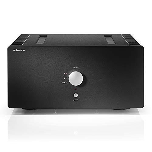 Nubert nuPower A | 2 Kanal Endstufe | vollsymmetrischer Analogverstärker | schaltbare High End Endstufe Mono (1 x 2200 W) oder Stereo (2X 1150W) | Class-AB Endverstärker | Schwarz
