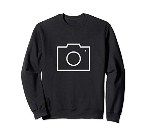 Ich bin Photograph! Kamera Emoji Sweatshirt