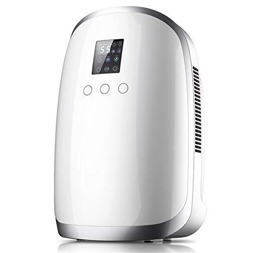 XDJ Deshumidificador Inteligente Deshumidificador Casa Mudo, Humedad Monitor, Automático Descongelar, Continuo Drenaje, Fotocatalizador Purificación, 8 Horas Temporizador