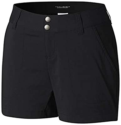 Columbia Women's Saturday Trail Short, Black, 10x5
