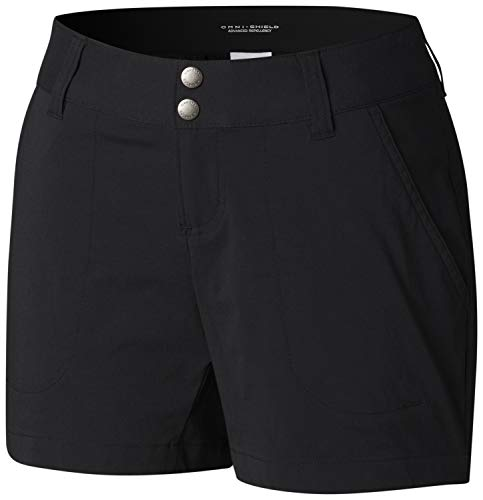Columbia Damen Wandershorts Saturday Trail, Schwarz (Black), W6/L5
