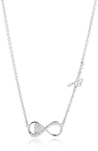 Guess Collar cadena Mujer chapado en plata - UBN85012