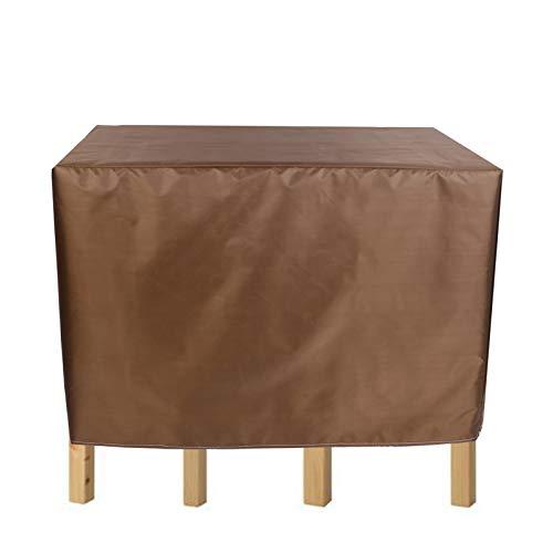 BAILR Gartenmöbel Abdeckung 165×109cm, 420D Oxford Stoff Staubdicht wasserdichte Abdeckung für Terrasse Tisch und Stühle, Sitzgruppe, Rechteckig